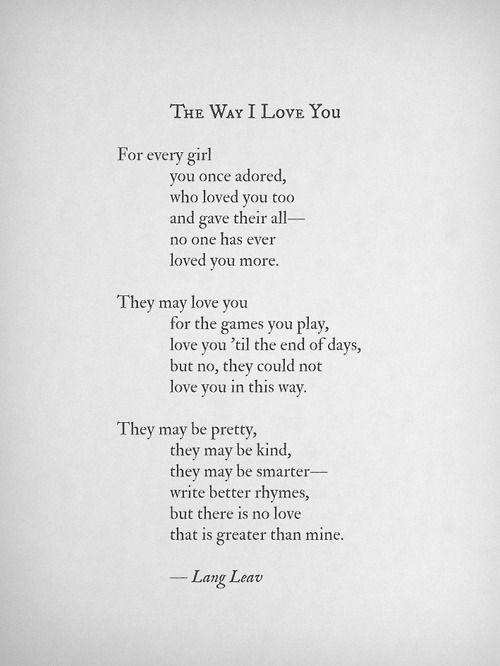 Poems Crush Love Girl