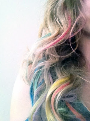 132 best images about chalk hair dye on pinterest dip dye hair blue hair and soft hair