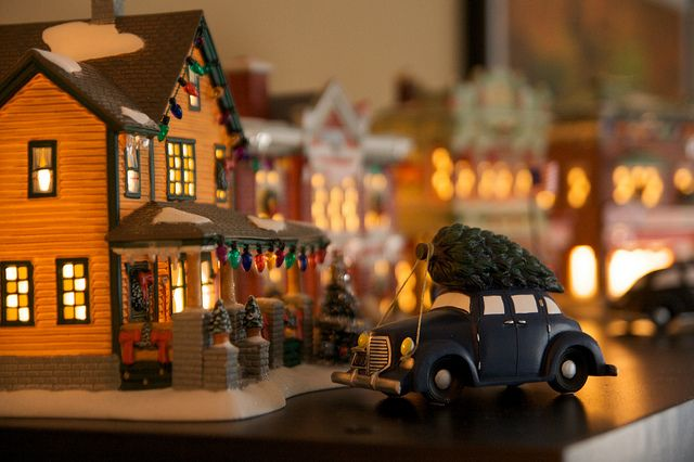 100 Best Images About Christmas Village On Pinterest
