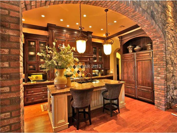 Tuscan Kitchens Pendant Lights And Tuscan Style On Pinterest