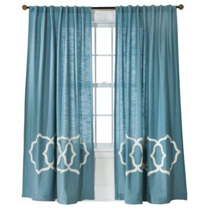 Fretwork Border Curtain Panel Threshold Colors Window Panels And Target Threshold
