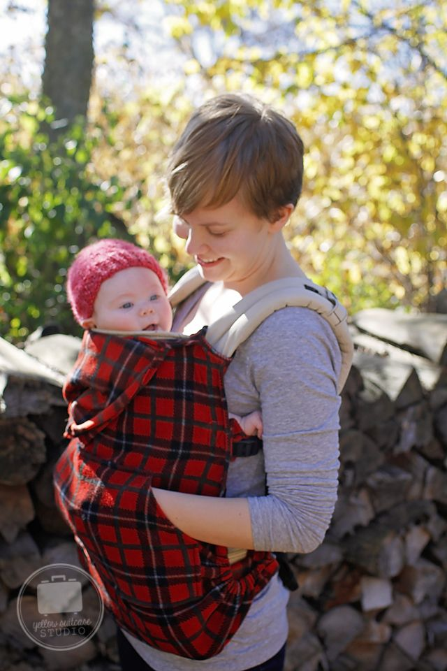 My husband and I have been loving wearing our little Lillian in our Boba carrier! It's been getting chillier in Wisconsin and I