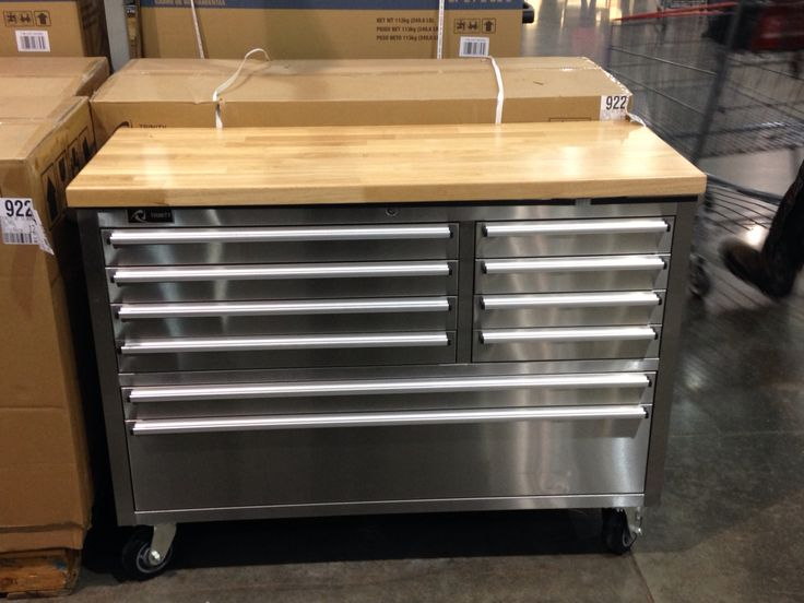 Tool Box At Costco Trinity 48 Stainless Steel Tool Box 299 Things I Want Pinterest