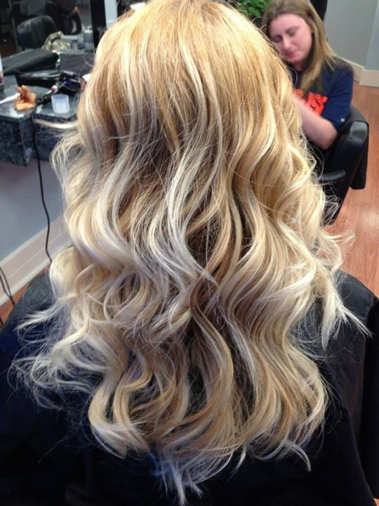 Blonde Ombr With Golden Blonde Hair Cute Hairstyles