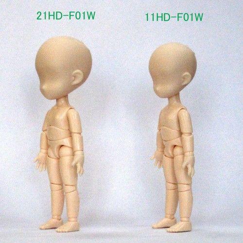 11cm Obitsu Body  Head comparism