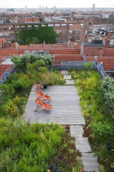 rooftop garden 17 Best ideas about Roof Gardens on Pinterest | Urban