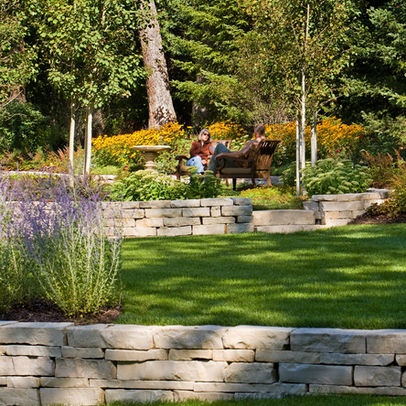 32 best images about Sloped back yard ideas on Pinterest ... on Terraced Front Yard Ideas id=58184