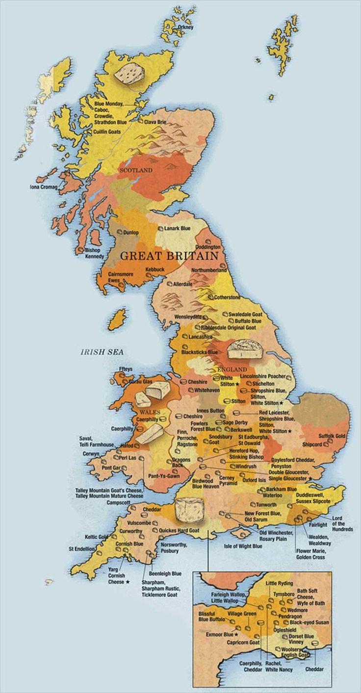 Great Britain World Map