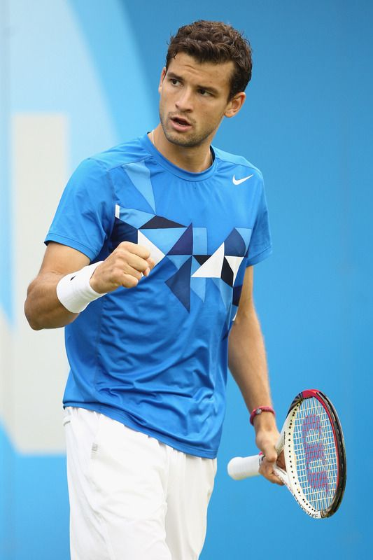 Grigor Dimitrov, Bulgaria - Tennis | Fit sportsmen | Pinterest