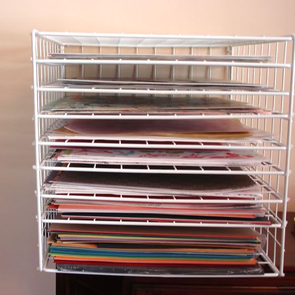 diy art drying rack teaching