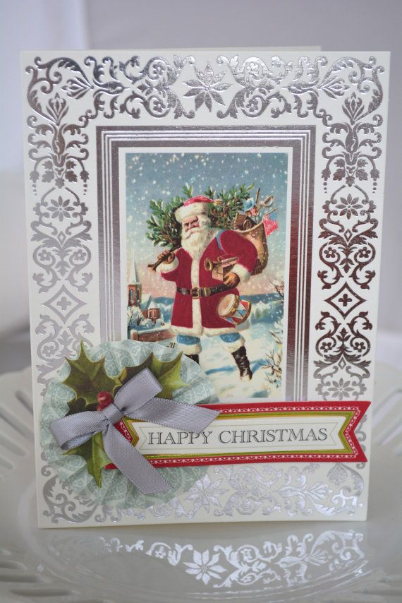 Christmas Card 3D Multi Layered Anna Griffin By