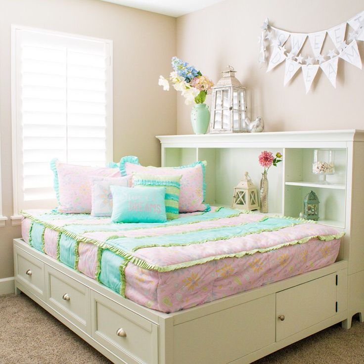 Zipper Bedding Is Perfect For Beds With Drawers Girls