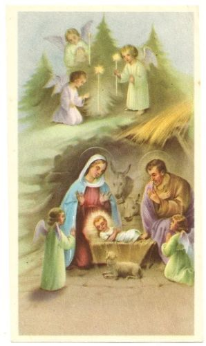 1000 Images About Christ Baby Jesus Vintage Christmas