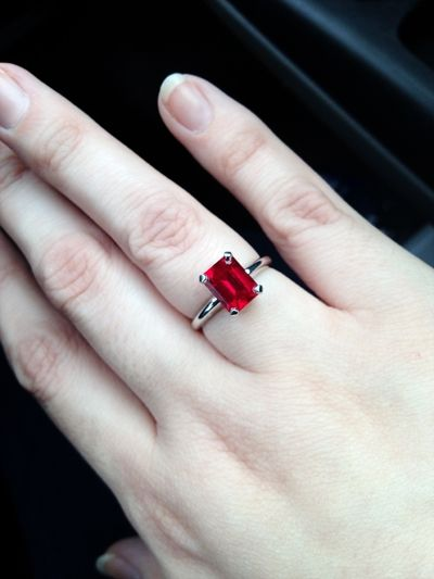 Top Four Benefits Of Natural Ruby Ring Over A Diamond Ring
