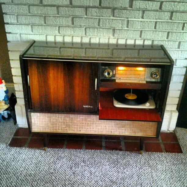 Vintage Late 50 S Atomic Age German Made Kuba Stereo