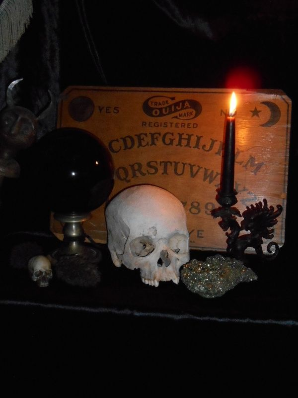 Antique Occult Altar Supplies For Sale At Gothic Rose