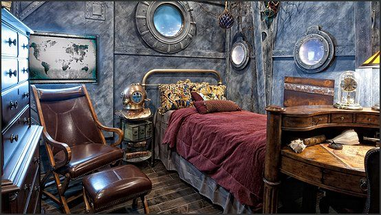 Steampunk, Steampunk Style And Under The Sea Theme On