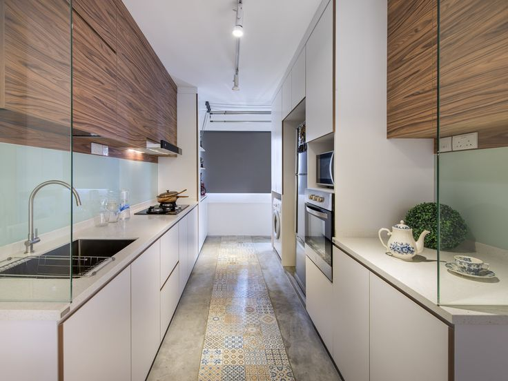 Mixed Flooring For Kitchen Past Amp Present Home Amp Decor
