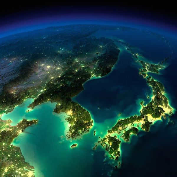 25 Incredible Images of #Earth At Night from Space by # ...