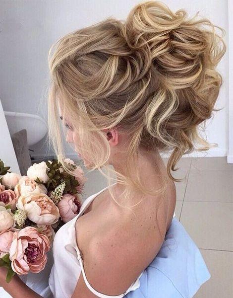 25 best ideas about High bun wedding  on Pinterest High