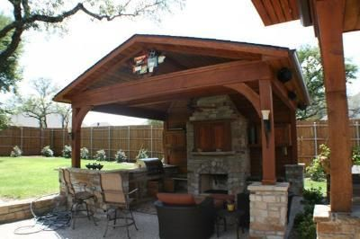 outdoor covered patio with fireplace and kitchen outdoor fireplaces and patios   Covered patio with outdoor