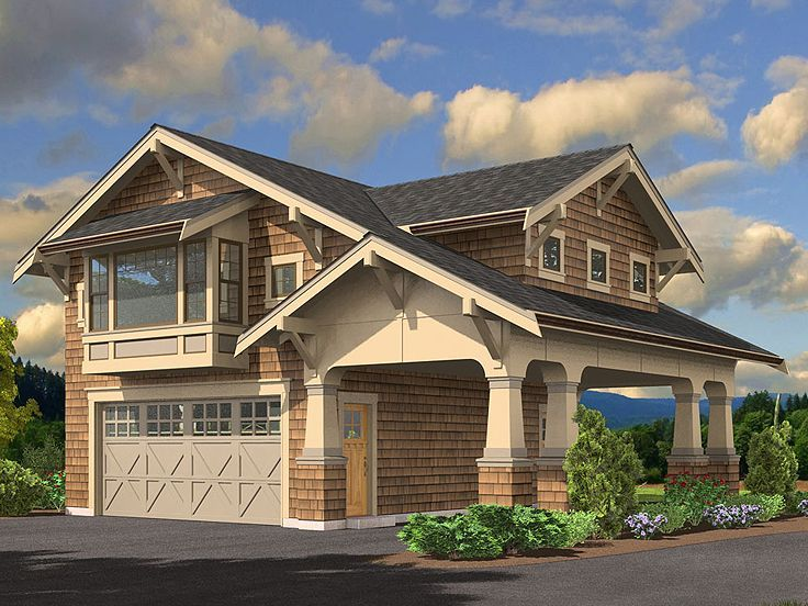 Carriage House Plan, 035G-0015