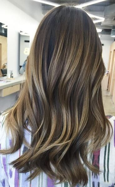 Brunette Balayage Blend Hair Color Pinterest Colors