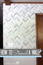 How To Stencil A Wall: