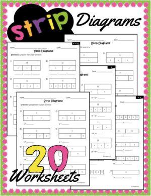 Strip Diagrams | Worksheets