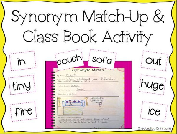 17 Best images about Synonyms on Pinterest | Anchor charts ...