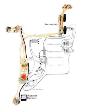 Fender Vintage Traditional Jazzmaster Guitar PreWired Wiring Harness | Reverb | Music Project