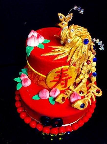 Chinese Phoenix Cake Wedding Pinterest Phoenix