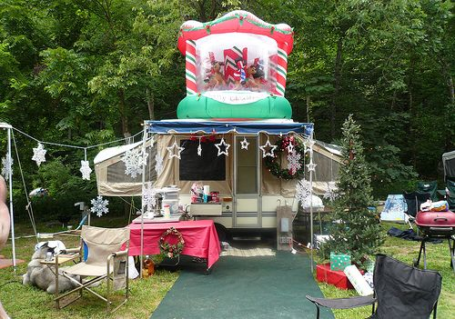 17 Best Images About Camping Campsite Holiday Decorating On Pinterest Disney Lamps And