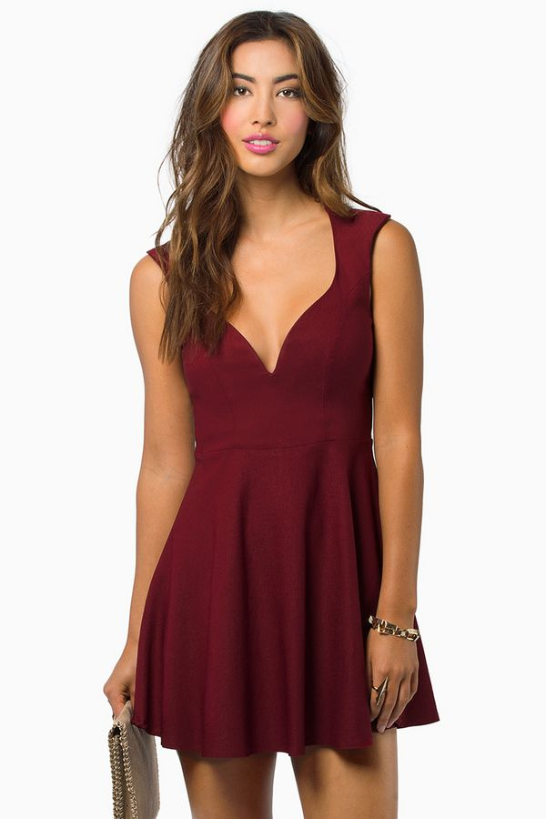 Tobi Valentina Skater Dress.  Sign up today to discover Trendy Dresses! Huge selection with new styles added each and every day!