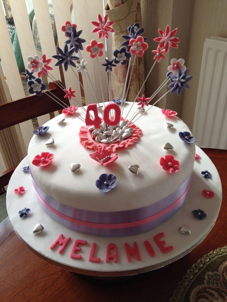 Happy Birthday Melanie My Cakes Pinterest Happy