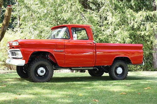 1960 Chevrolet Apache 4x4