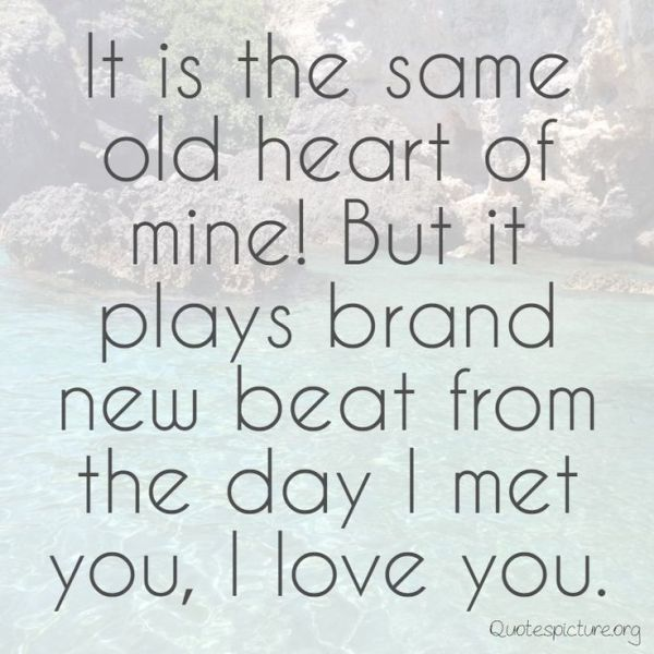 New Heart Touching Love Pictures Quotes For Him | Cute ...
