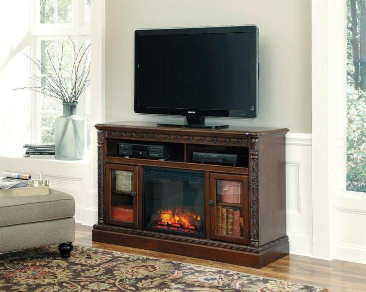 Mueble De TV Con Chimenea Elctrica W553 68 W100 01 Old