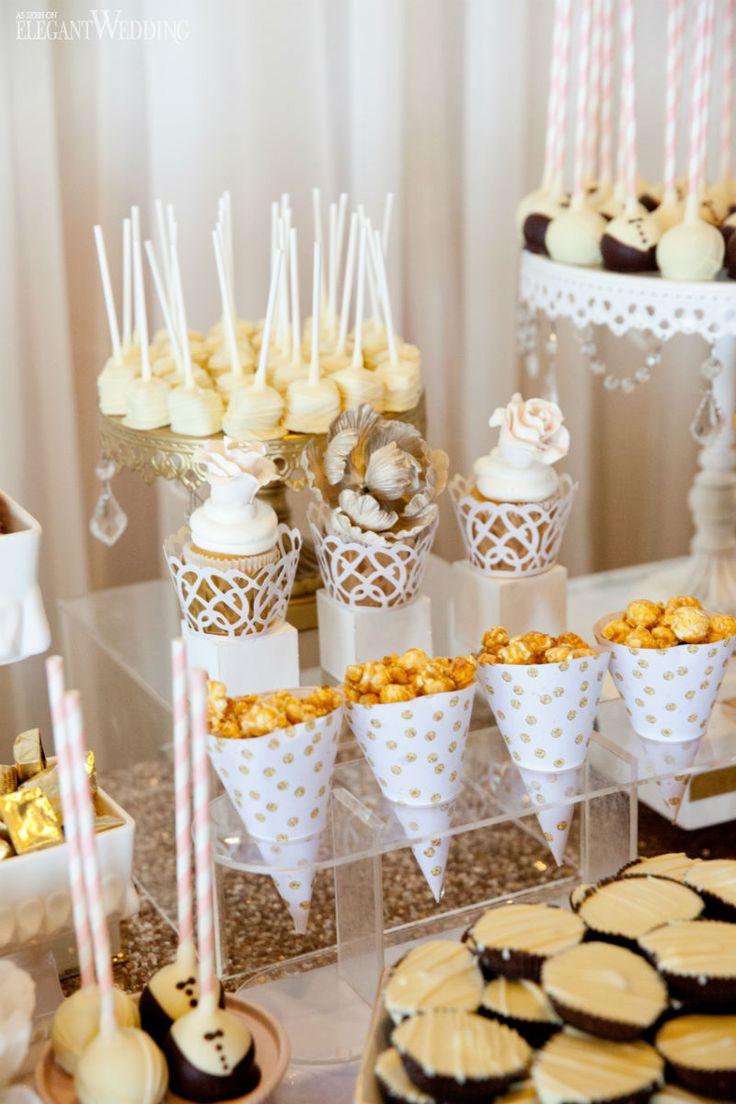 25 Best Ideas About Elegant Dessert Table On Pinterest