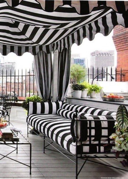 Black and white patio #decor | Backyard | Pinterest ... on Black And White Backyard Decor  id=73454