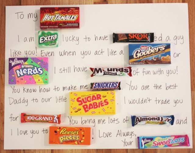 Repeat Crafter Me Candy Bar Card Candy Boards