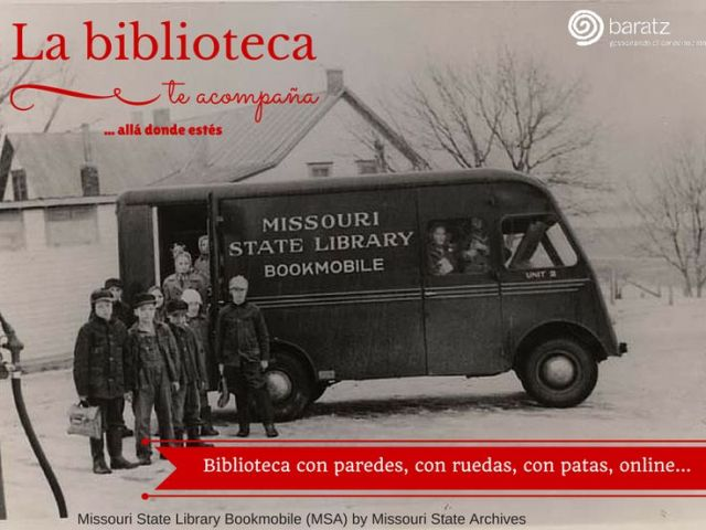 La biblioteca te acompaña... allá donde estés