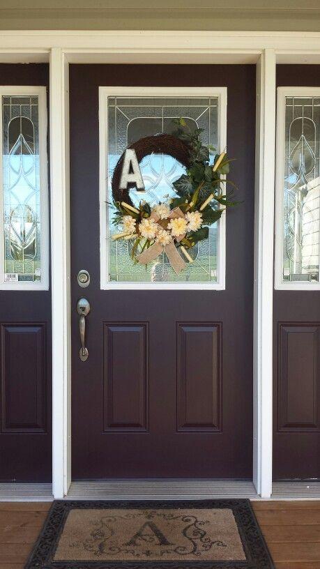 Front Door Color Sherwin Williams Raisin Paint Pinterest Front Doors Colors And Front