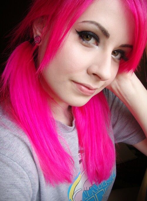 Manic Panic Hot Pink Color Ideas Pinterest Hot