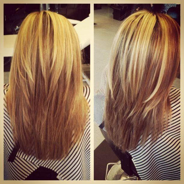 Straight Layered Hairstyles for Medium Hair