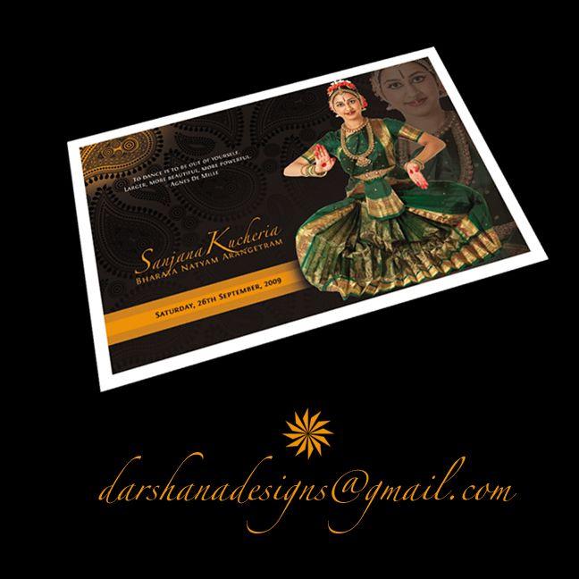 classical dance program invitation card sample Invitationjpgcom
