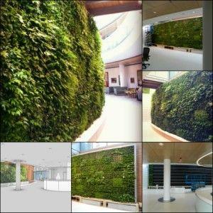 vertical garden institute Lancaster General Ann B. Barshinger Cancer Institute Green