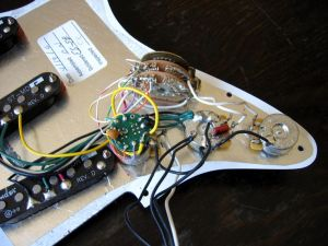 Fender Deluxe Stratocaster w S1 Switch Wiring Diagram | Guitar repair | Pinterest | Fender deluxe