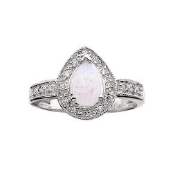 Beautiful Opal Engagement Rings