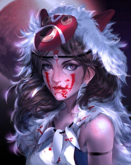 268 Best Images About Princess Mononoke On Pinterest